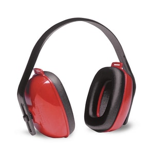 Howard Leight QM24+® Multi-Position Headband Ear Muff in Red HQM24PLUS