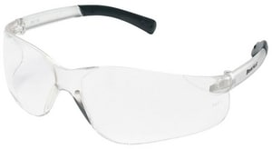 Crews BearKat® Anti-Fog Resistant Safety Glasses with Black Frame CBK110AF