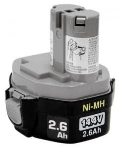 Makita USA 14.4 V 2.6 Ah Ni-mh Battery Pod Style M1931583