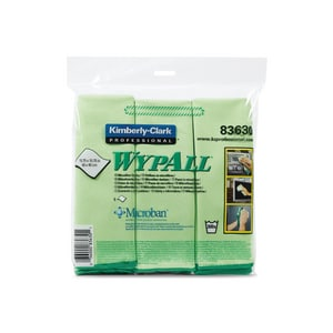 Kimberly Clark WypAll® 15-3/4 in. Microfiber Cloth in Yellow K8360