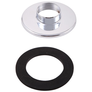 Delta Faucet Escutcheon Base with Gasket Brushed DRP18543