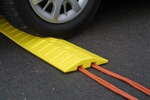 Eagle Manufacturing 72 in. Speed Bump Cable Guard in Yellow E1792