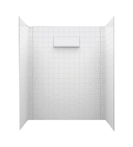 Swan Corporation Shower Wall Kit STI7260WH