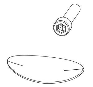Moen Plug Button Kit M100109