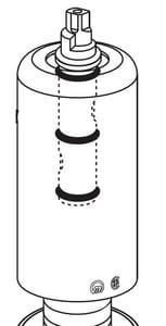 Moen Bidet Diverter Kit in Polished Chrome M94831