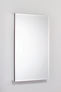 Robern SafeSeal® 24 x 4 in. Flat Beveled Right Hinge Medicine Cabinet with Electric RMP24D4FBRE
