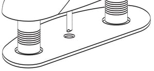 Moen Lavatory Deck Gasket Kit M97564