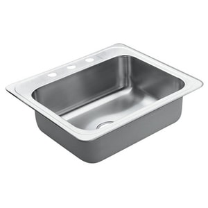 Moen Excalibur® 1-Bowl Kitchen Sink with Center Drain M2286