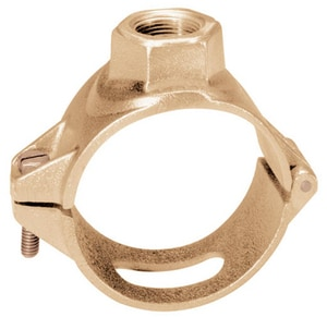 Brass Single Strap Saddles