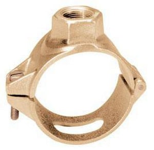Ford Meter Box 3 in. IPS x CC PVC Brass Saddle FS703