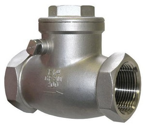 FNW 200 WOG Stainless Steel Threaded Check Valve FNW16B200