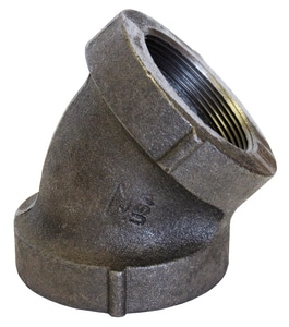 300# Cast Iron 45 Degree Elbow BD4