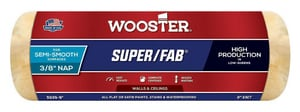 Wooster Super/Fab® 9 in. Roller Cover with 3/8 in. Nap in Golden Yellow and Green WR2399