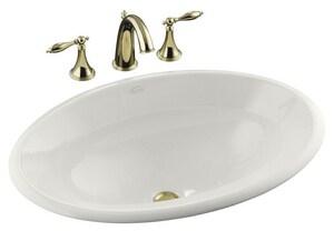 Kohler Centerpiece® No-Hole Drop-In Bathroom Sink K2264