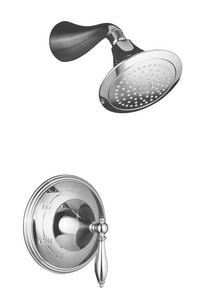 Kohler Finial® Pressure Balance Shower Faucet Trim with Single Lever Handle KT313-4M