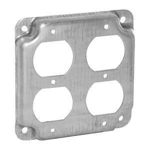 Raco 4-19/100 x 1/2 in. Duplex Cover R907C