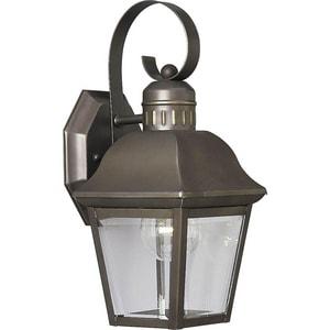 Progress Lighting Andover 100W 1-Light Medium E-26 Wall Lantern in Antique Bronze PP568720