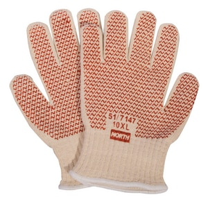 North Safety Products Grip-N™ Hot Mill Grip Mens Glove N517147