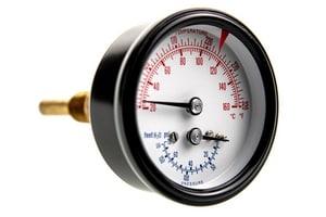 Weil Mclain 2-1/2 in. Triad Pressure Gauge W510218097