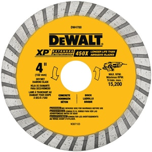 Dewalt Dry Cutting Dia Wheel DDW4700