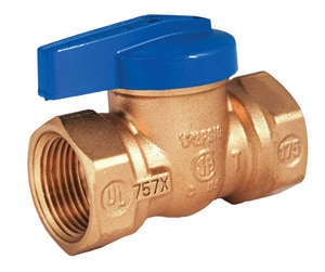 Legend Valve & Fitting Blue Top™ T-3000 Forged Brass FNPT Lever Handle Gas Ball Valve L10210