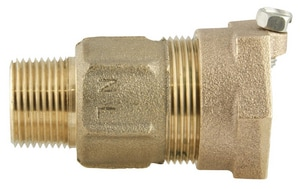 Ford Meter Box MIP Swivel x IPS Brass Straight Coupling FC8533