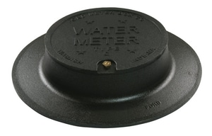 Ford Meter Box Single Lid Cover with Lock Lid FC32