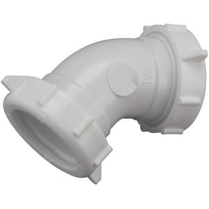 Keeney 1-1/2 in. Slip PVC 45 Degree Elbow KEE49PVC