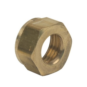 Brass Craft Rough Brass Faucet Shank Nut BSJ300R