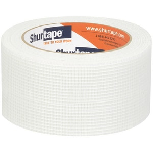 Shurtape MJ 100 3 in. x 150 ft. Meh Cloth Tape in White SMJ100M150