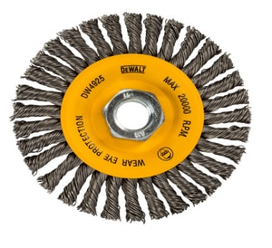 DEWALT 4 in. Twisted Wire Wheel DDW4930