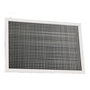 American Louver 2 x 2 x 3/8 in. Return Air Grille Egg Crate A242424