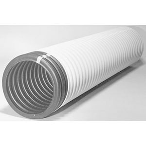 Advanced Drainage Systems 100 ft. Plastic Drainage Pipe A730100