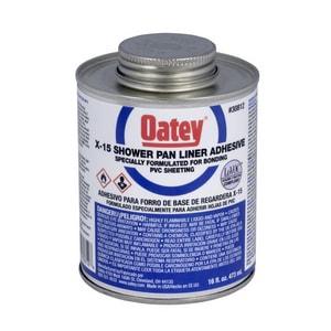 Oatey PVC Shower Pan Solvent O30812