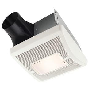 Broan nutone inventtm series 70 cfm bathroom exhaust fan for Cfm requirements for bathroom fans