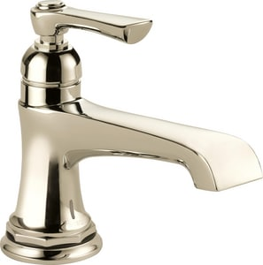 Brizo Rook™ 6-7/8 in. 1.2 gpm 1-Hole Lavatory Faucet with Single-Handle D65960LF