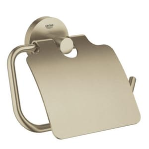 Grohe Essentials Toilet Paper Holder in Brushed Nickel G40367EN1