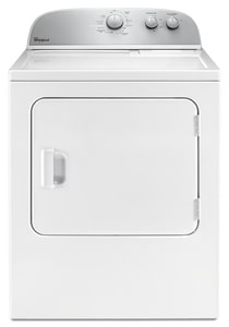 Whirlpool Electric Dryer with Wrinkle Shield in White WWED4985EW