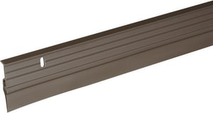 Thermwell Products Frost King 36 in. Aluminum and Vinyl Door Bottom in Bronze TB5936H