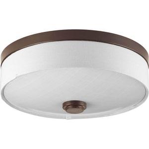 Progress Lighting Weaver 17W 1-Light LED Flushmount Ceiling Fixture PP361030K9
