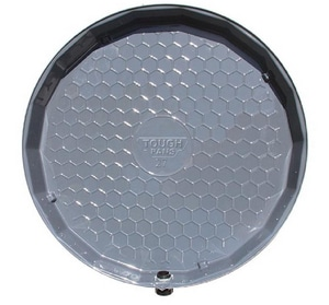 Vizco US 2-1/2 in. Plastic Water Heater Pan with PVC Fitting VVPP