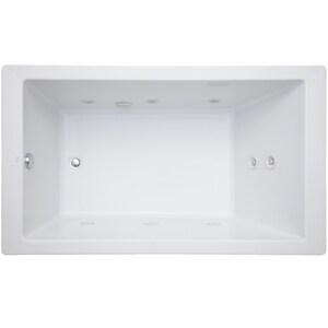 Mirabelle® Sitka 60 x 36 in. 65 gal Acrylic Drop-In Whirlpool MIRSKT6036