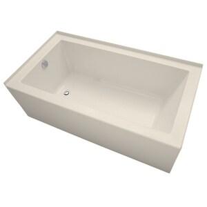 Mirabelle® Sitka 60X32 LH AIR BATH W/SKT *SITKA WHIT MIRSKA6032L