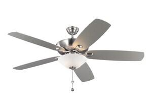 Monte Carlo Fan Company Colony Super Max Plus 60 in. 5-Blade Ceiling Fan M5CSM60D