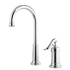 Pfister Ashfield™ 1.75 gpm 2-Hole Kitchen Faucet with Single Lever Handle Bar PLG72YP2