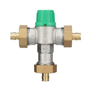 Wilkins Regulator Aqua-Gard® 1/2 in. Barbed Thermostat Mixing Valve WZW1070XLPEXF1960D