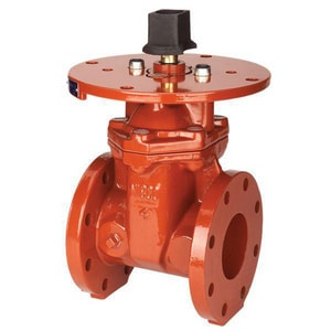 Nibco 6 in. Stainless Steel Flanged Resilient Wedge Steam Gate Valve NF609RWSLFU