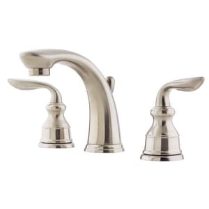 Pfister Avalon™ 3-Hole Widespread Bath Faucet with Double Lever Handle and 4-27/32 in. Spout Reach PLF049CB0
