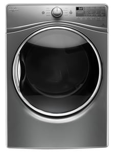Whirlpool 27 in. 7.4 cf 10-Cycle Gas Front Load Dryer with Advanced Moisture Sensing WWGD92HEF