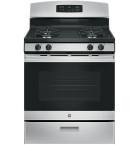 General Electric Appliances Freestanding Natural Gas Range GJGBS60REK